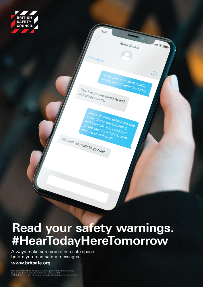 Read your safety warnings