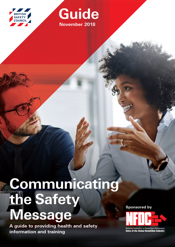Communicating the Safety Message