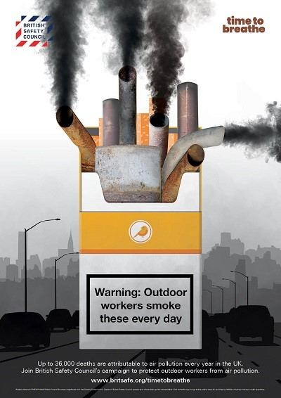 Warning. Outdoor Workers Smoke These Every Day