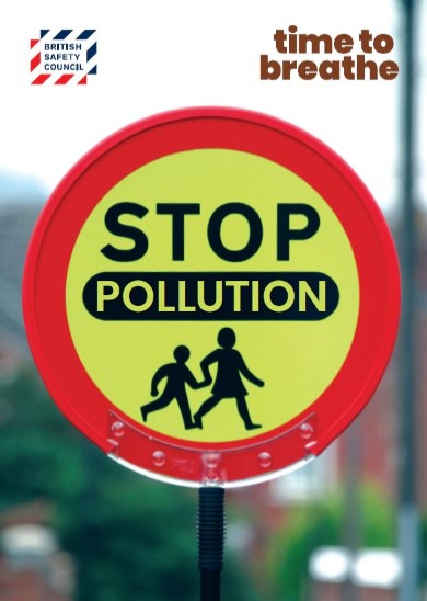 Stop pollution placard