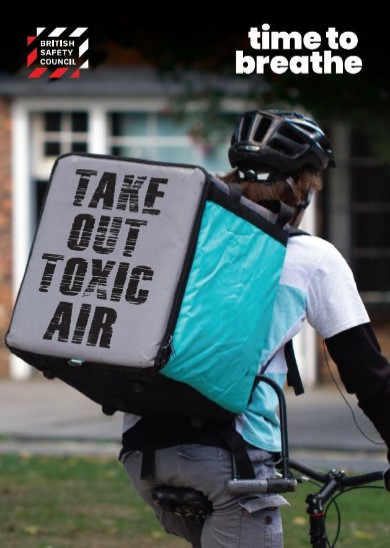 Take out toxic air placard