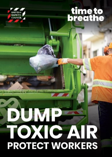 Dump toxic air placard
