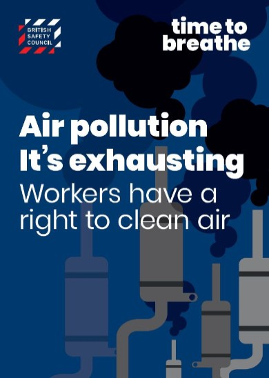 Air pollution. It's exhausting placard