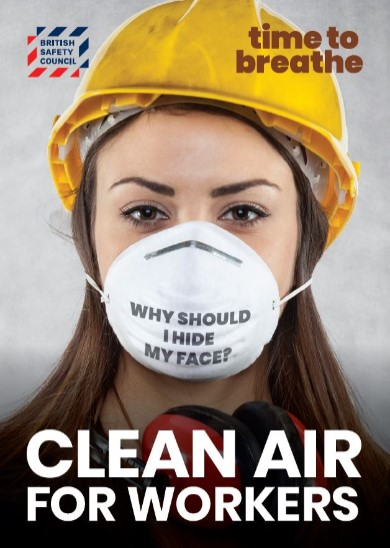 Clean air for workers placard