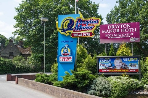 Drayton Manor Theme Park Photograph David P Howard